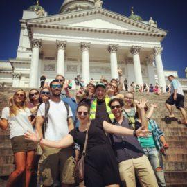 Helsinki Free Walking Tour during Winter