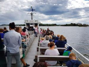 Suomenlinna ferry Green Cap Tours